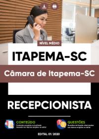 Recepcionista - Câmara de Itapema-SC