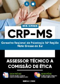 Assessor Técnico a Comissão de Ética - CRP-MS