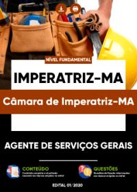 Agente de Serviços Gerais - Câmara de Imperatriz-MA