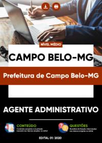 Agente Administrativo - Prefeitura de Campo Belo-MG