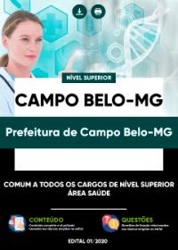 Comum aos cargos de Nível Superior - Área Saúde - Prefeitura de Campo Belo-MG