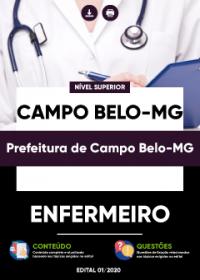 Enfermeiro - Prefeitura de Campo Belo-MG