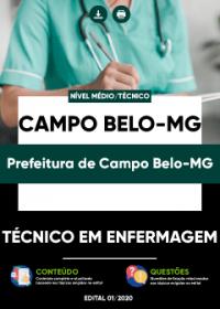Técnico em Enfermagem - Prefeitura de Campo Belo-MG