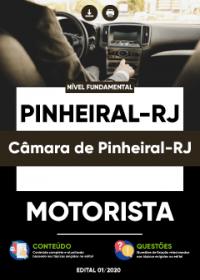 Motorista - Câmara de Pinheiral-RJ