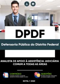 Analista de Apoio à Assistência Judiciária - Comum as áreas - DPDF