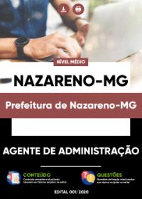 Agente de Administração - Prefeitura de Nazareno-MG