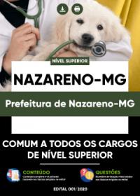 Comum aos Cargos de Nível Superior - Prefeitura de Nazareno-MG