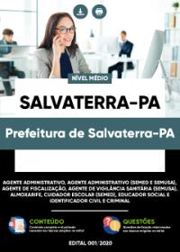 Agente Administrativo e outros - Prefeitura de Salvaterra-PA