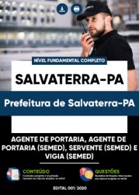 Agente de Portaria e outros - Prefeitura de Salvaterra-PA