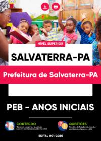 PEB - Anos Iniciais - Prefeitura de Salvaterra-PA
