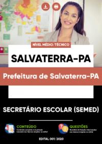 Secretário Escolar (SEMED) - Prefeitura de Salvaterra-PA