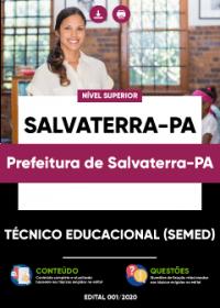 Técnico Educacional (SEMED) - Prefeitura de Salvaterra-PA