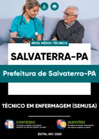 Técnico em Enfermagem (SEMUSA) - Prefeitura de Salvaterra-PA