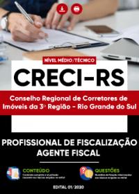Profissional de Fiscalização - Agente Fiscal - CRECI-RS