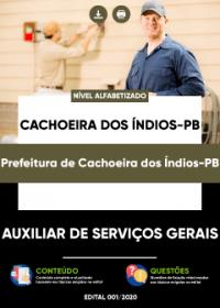 Auxiliar de Serviços Gerais - Prefeitura de Cachoeira dos Índios-PB