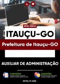 Auxiliar de Administração - Prefeitura de Itauçu-GO
