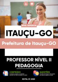 Professor Nível II - Pedagogia - Prefeitura de Itauçu-GO