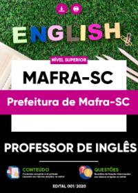 Professor de Inglês - Prefeitura de Mafra-SC