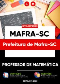 Professor de Matemática - Prefeitura de Mafra-SC