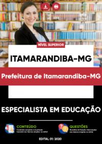 Especialista em Educação - Prefeitura de Itamarandiba-MG