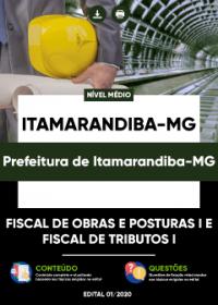 Fiscal de Obras e Posturas I e Fiscal de Tributos I - Pref. de Itamarandiba-MG