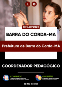 Coordenador Pedagógico - Prefeitura de Barra do Corda-MA