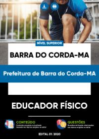 Educador Físico - Prefeitura de Barra do Corda-MA
