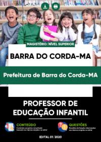 Professor de Educação Infantil - Prefeitura de Barra do Corda-MA