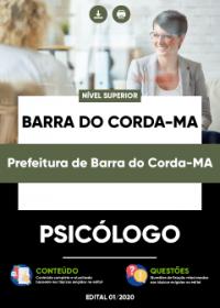 Psicólogo - Prefeitura de Barra do Corda-MA