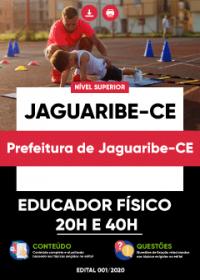 Educador Físico 20h e 40h - Prefeitura de Jaguaribe-CE