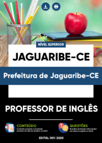 Professor de Inglês - Prefeitura de Jaguaribe-CE