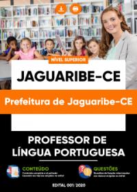 Professor de Língua Portuguesa - Prefeitura de Jaguaribe-CE