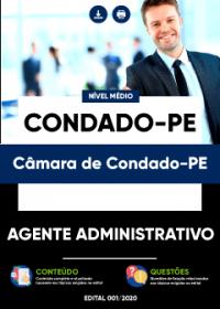 Agente Administrativo - Câmara de Condado-PE