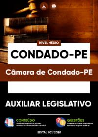 Auxiliar Legislativo - Câmara de Condado-PE