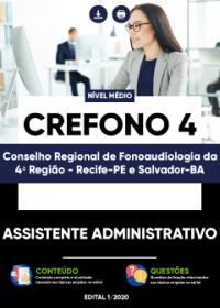Assistente Administrativo - CREFONO 4ª Região