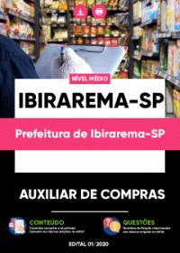 Auxiliar de Compras - Prefeitura de Ibirarema-SP