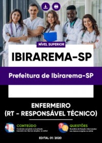 Enfermeiro - Prefeitura de Ibirarema-SP