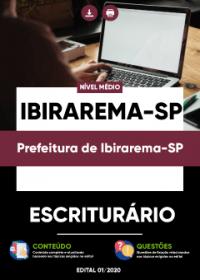 Escriturário - Prefeitura de Ibirarema-SP