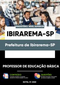 Professor de Educação Básica - Prefeitura de Ibirarema-SP