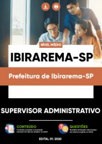 Supervisor Administrativo - Prefeitura de Ibirarema-SP
