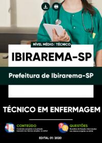Técnico em Enfermagem - Prefeitura de Ibirarema-SP