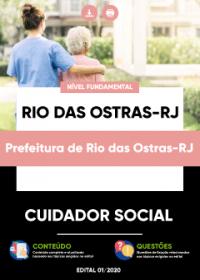 Cuidador Social - Prefeitura de Rio das Ostras-RJ