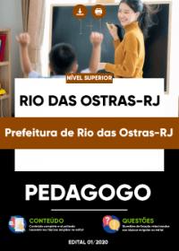Pedagogo - Prefeitura de Rio das Ostras-RJ