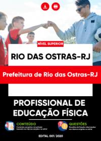 Profissional de Educação Física - Prefeitura de Rio das Ostras-RJ