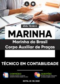 Técnico em Contabilidade - MARINHA - Corpo Auxiliar de Praças