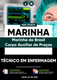 Técnico em Enfermagem - MARINHA - Corpo Auxiliar de Praças