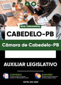 Auxiliar Legislativo - Câmara de Cabedelo-PB