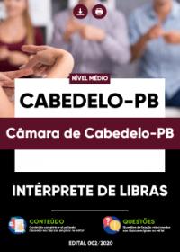 Intérprete de Libras - Câmara de Cabedelo-PB