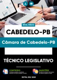 Técnico Legislativo - Câmara de Cabedelo-PB