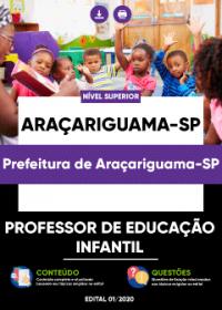 Professor de Educação Infantil - Prefeitura de Araçariguama-SP